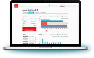 Cash Savings Platform Akoni