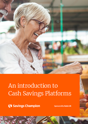An introduction to cash savings guide cover