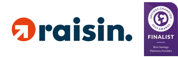 Raisin UK - Savings Champion Awards 2019 Finalist