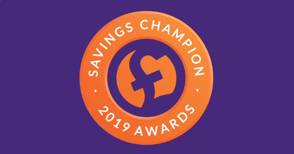 Savings Champion awards 2019 logo