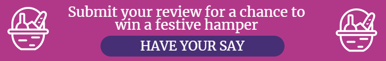 Submit your review for a chance to win a festive hamper
