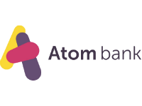 Logo for Atom Bank