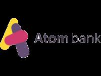 Logo for Atom Bank