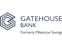 Logo for Gatehouse Bank (formerly Milestone Savings)