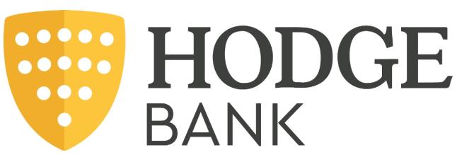 Logo for Hodge Bank